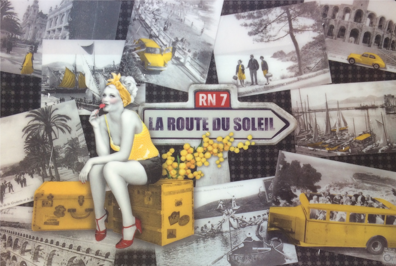 Route nationale 7, la route des vacances